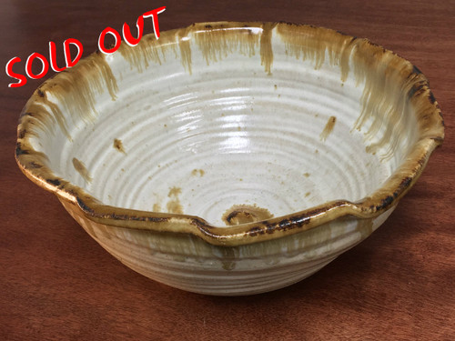 Large Serving Bowl, Roughly 6 Inches Tall by 13 Inches Wide (ST100)