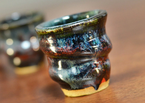One Cosmic Shot Cup, 1-2 ounce size, Inspired by a Star-Formation Nebula (SP145)