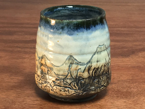 Mountain Cup, roughly 11-12 Ounce Size (E114)