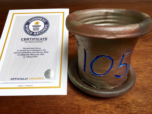 World Record Planter #105/159 and Certificate of Authenticity