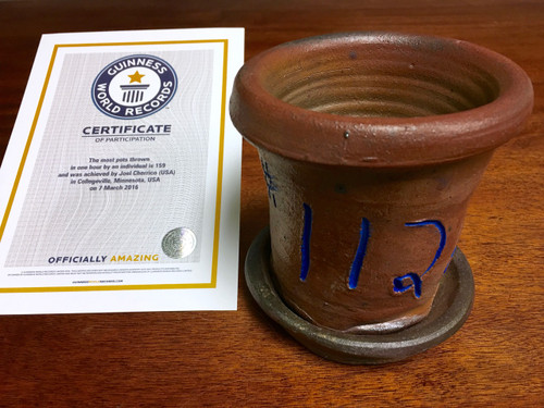 World Record Planter #112/159 and Certificate of Authenticity