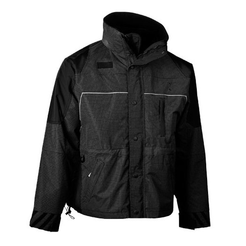 illumiNITE Ascent Mountain Rescue Parka in Black/Black