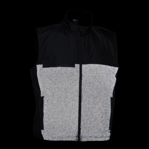 illumiNITE Reflective EMS Storm Vest in Black Night View