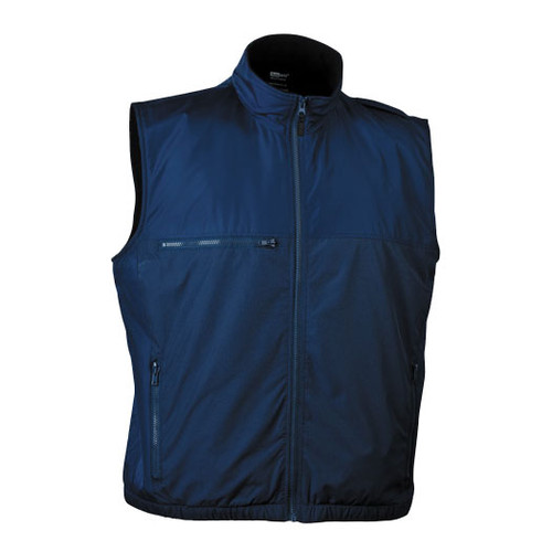 illumiNITE Reflective EMS Storm Vest in Navy Front View