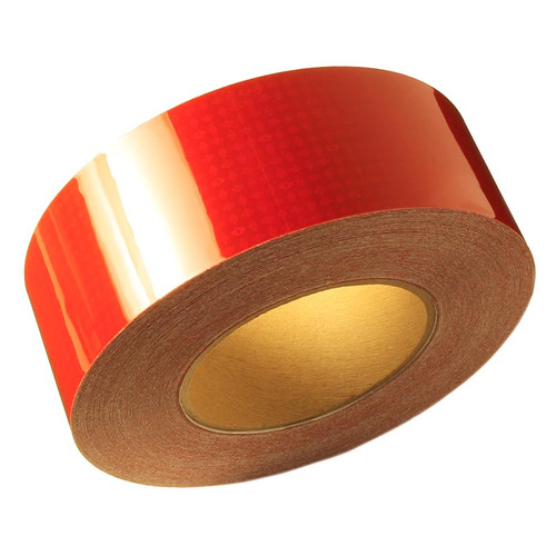 """Red Reflexite V82 Reflective Conspicuity Tape - 2"""" x 150' Roll"""