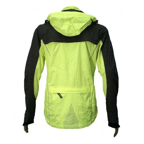 illumiNITE Providence Waterproof Jacket Back Detail