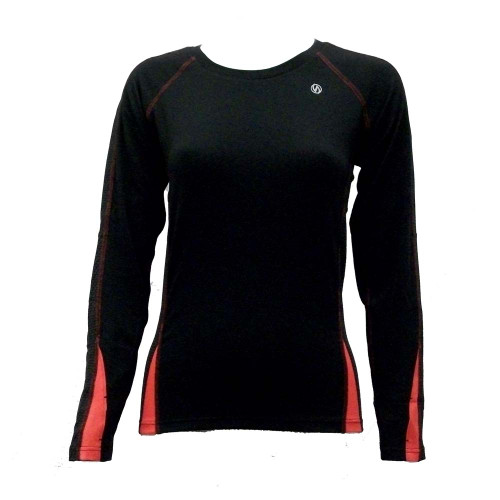illumiNITE Dovetail reflective women's shirt front view