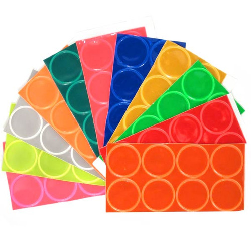 Sample Pack of ALL 11 Colors!! 88 dots total, 8 dots of each color.