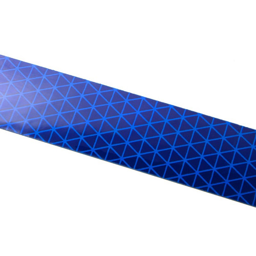 Blue Reflexite V92 Daybright Conspicuity Tape 1x18 Strip