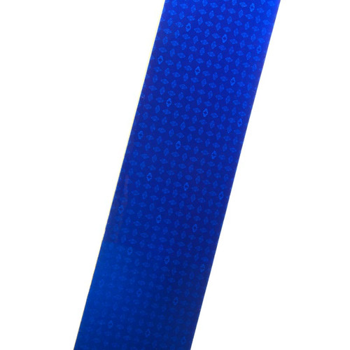 Blue Reflexite V82 Reflective Conspicuity Tape 2x12 Strip
