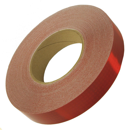 """Red OEM Reflexite V82 Reflective Conspicuity Tape - 1"""" x 150' Roll"""