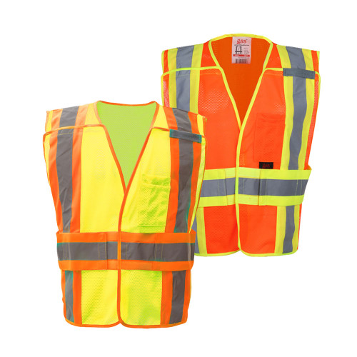 1803/1804 Class 2 Waist Adjustable Breakaway Vest