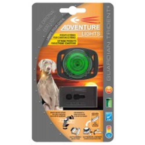 Adventure Lights Guardian Trident DOG Light GREEN - 45003