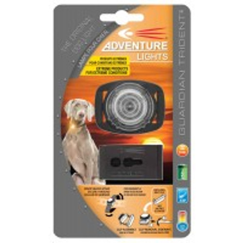 Adventure Lights Guardian Trident DOG Light WHITE - 45004