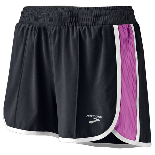 Brooks Running Epiphany Stretch Short II in Berry