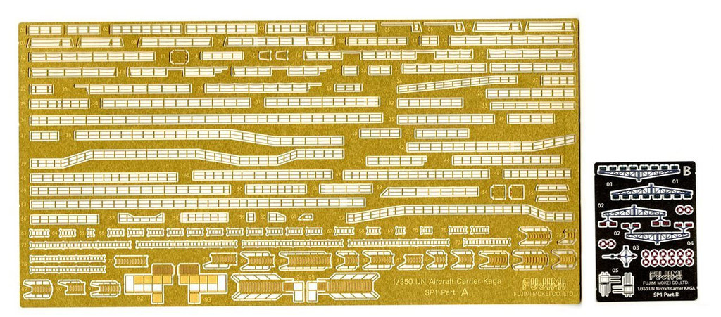 Fujimi 1/350 Gup39 Grade-Up Parts 1/350 IJN Kaga Photo Etched Parts SP1