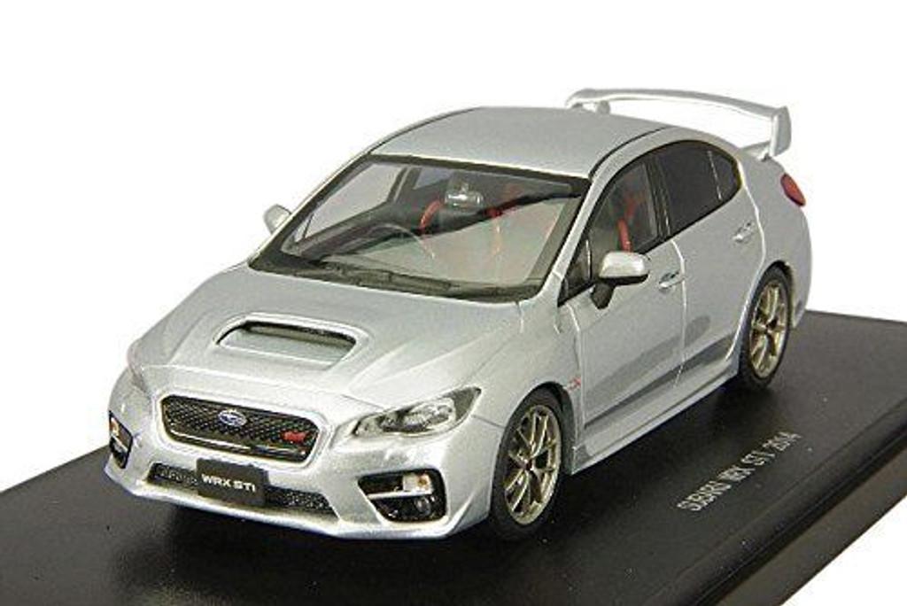 Ebbro 45310 SUBARU WRX STI 2014 (Silver) 1/43 Scale