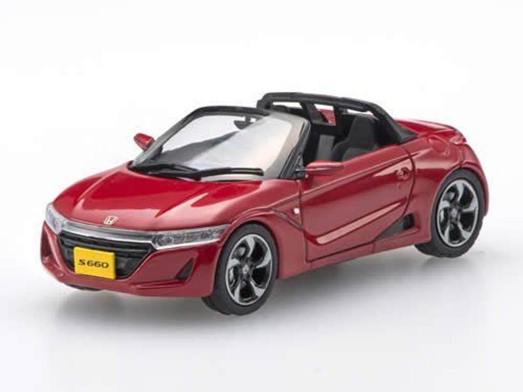 Ebbro 45359 Honda S660 RED 1/43 Scale