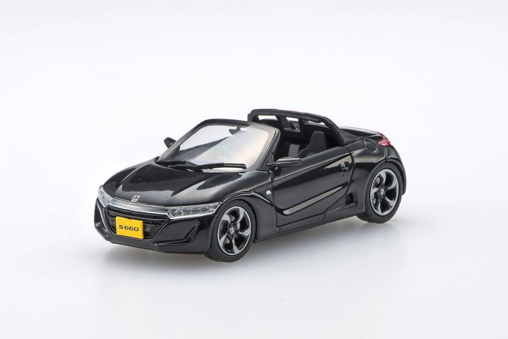 Ebbro 45361 Honda S660 BLACK 1/43 Scale
