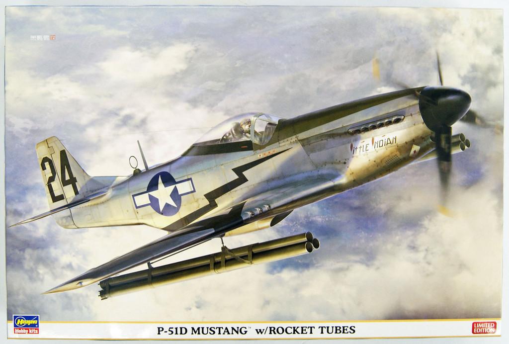 Hasegawa 08244 P-51D Mustang w/ Rocket Tubes 1/32 Scale Kit
