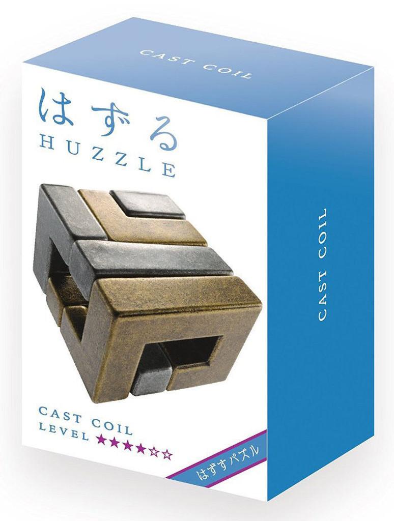 Hanayama Cast Huzzle (Puzzle) Cast COIL