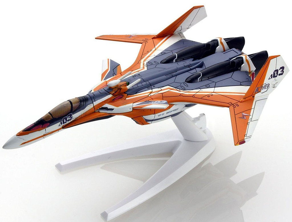 Bandai 095453 Macross VF-31E SIEGFRIED Fighter Mode Chuck Mustang Non Scale Kit