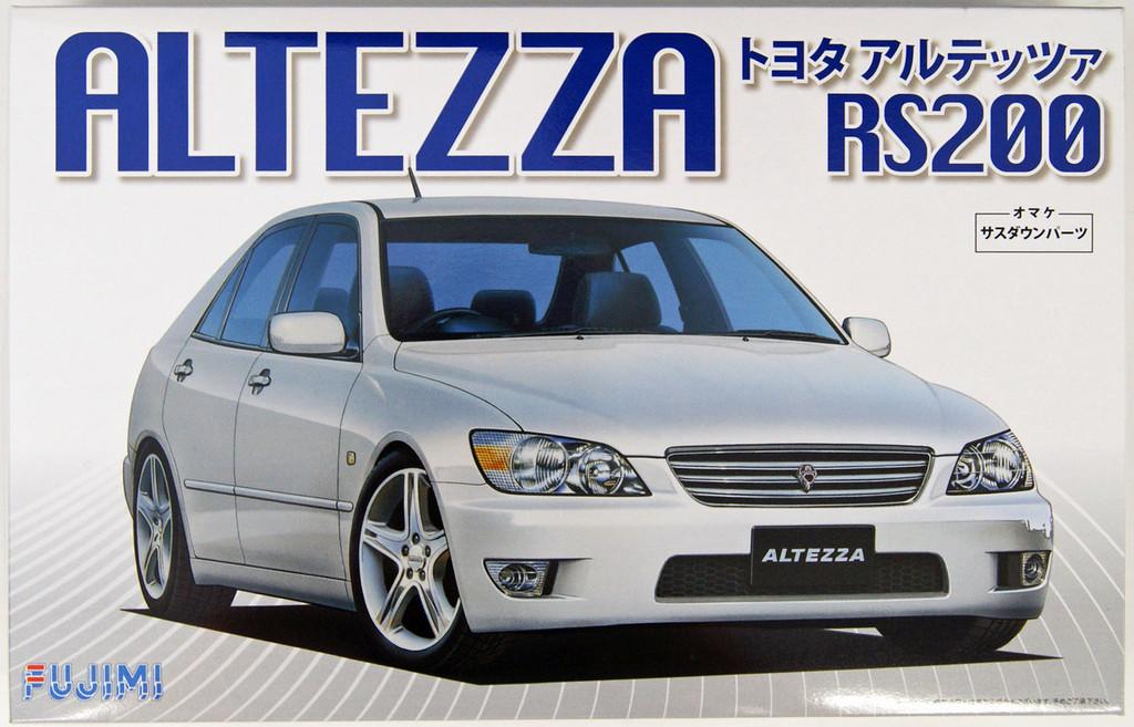 Fujimi ID-20 Toyota Altezza RS200 1/24 Scale Kit 039558