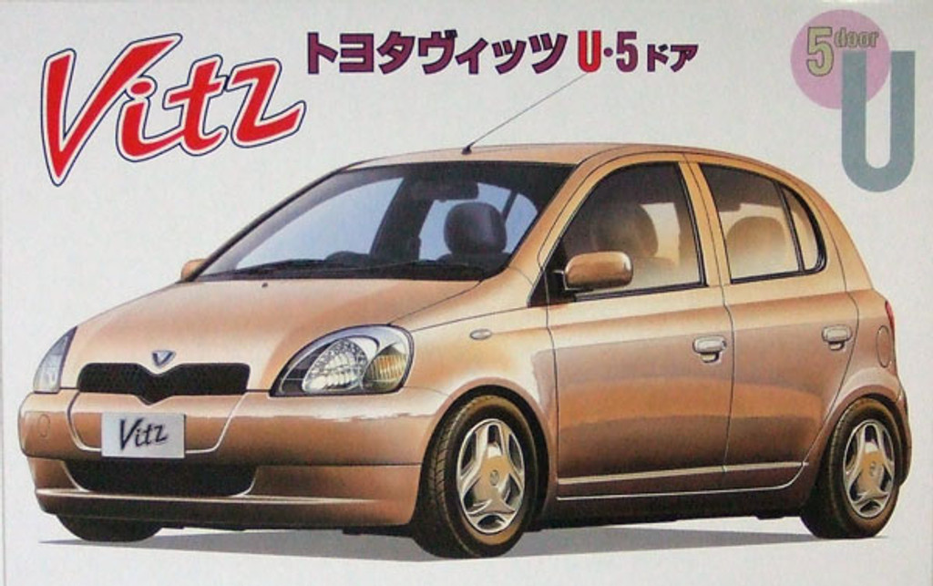 Fujimi ID-23 Toyota Vitz U 5-Door 1/24 Scale Kit