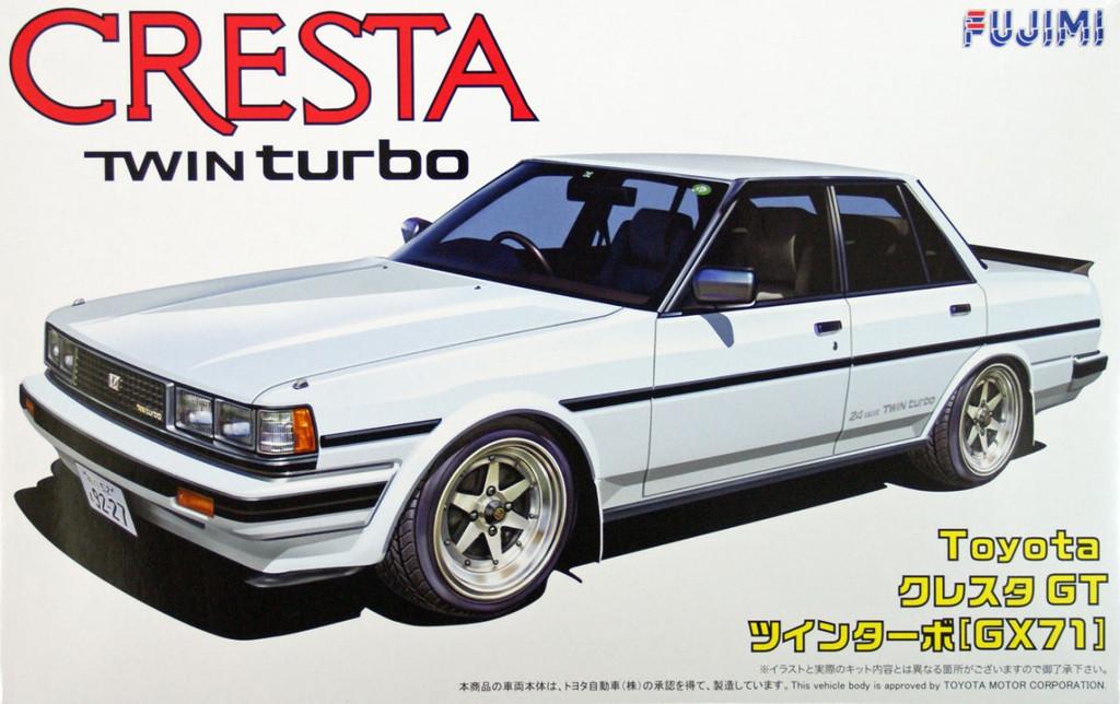 Fujimi ID-41 Toyota Cresta GT Twin Turbo (GX71) 1/24 Scale Kit