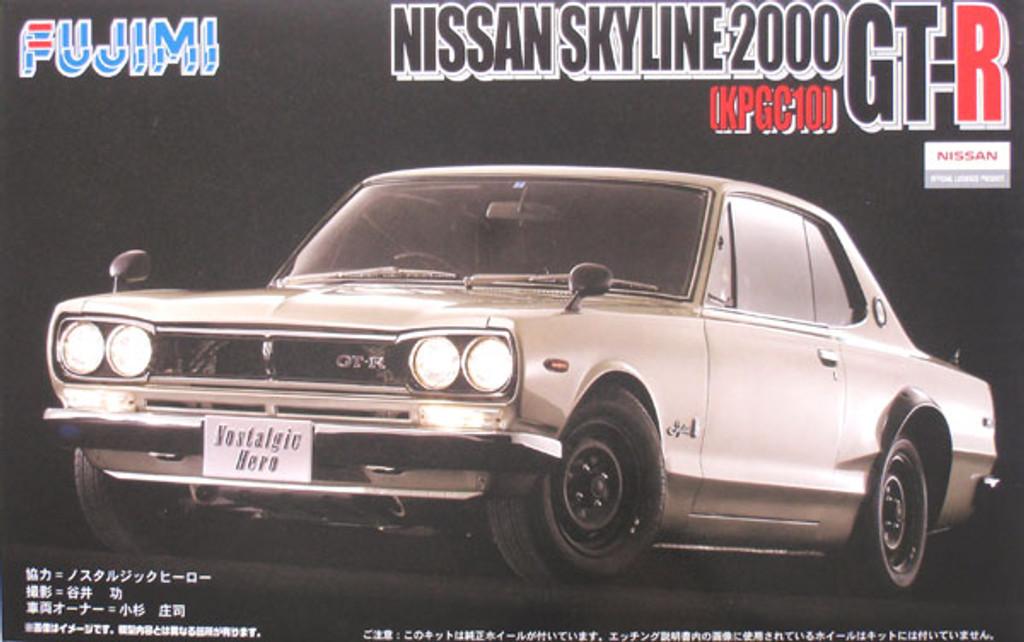 Fujimi ID-115 Nissan Skyline 2000 GT-R w/Etching 1/24 Scale Kit