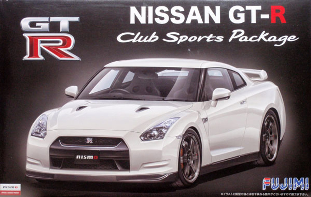 Fujimi ID-134 Nissan GT-R R35 Club Sports Package 1/24 Scale Kit