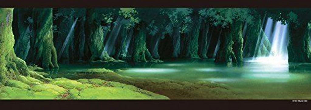 Ensky Jigsaw Puzzle 352-203 Princess Mononoke Studio Ghibli (352 Pieces)