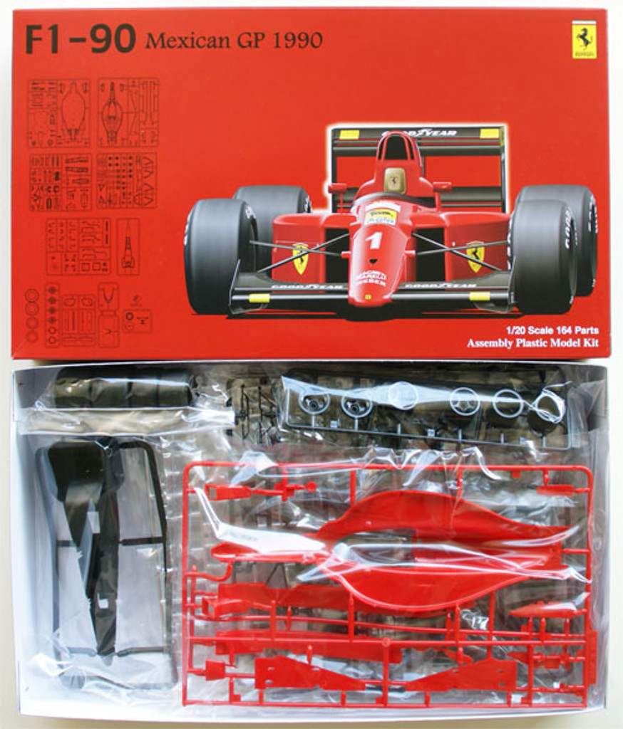 Fujimi GP8 090436 F1 Ferrari F1-90 1990 Mexican GP 1/20 Scale Kit