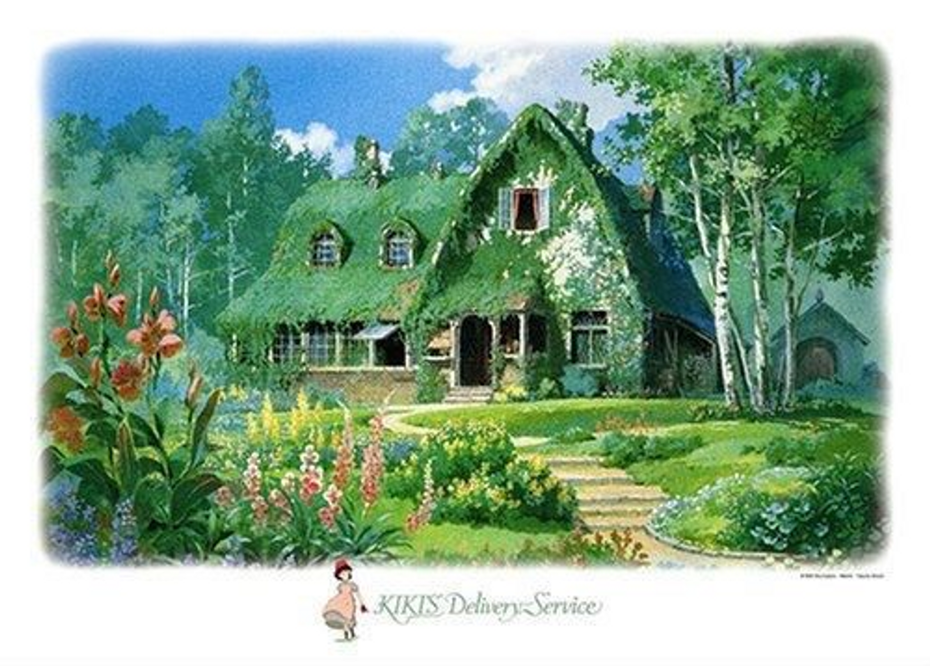 Ensky Jigsaw Puzzle 500-251 Kikis Delivery Service Studio Ghibli (500 Pieces)