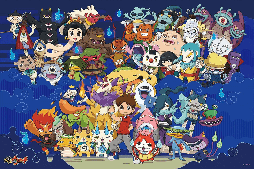 Ensky Jigsaw Puzzle 500-L167 Japanese Anime Yo-Kai Watch (500 L-Pieces)