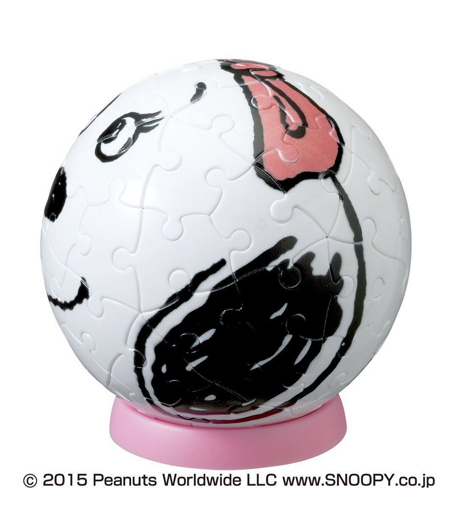Beverly 3D Puzzle BTP-002 Peanuts Snoopy Belle (60 Pieces)