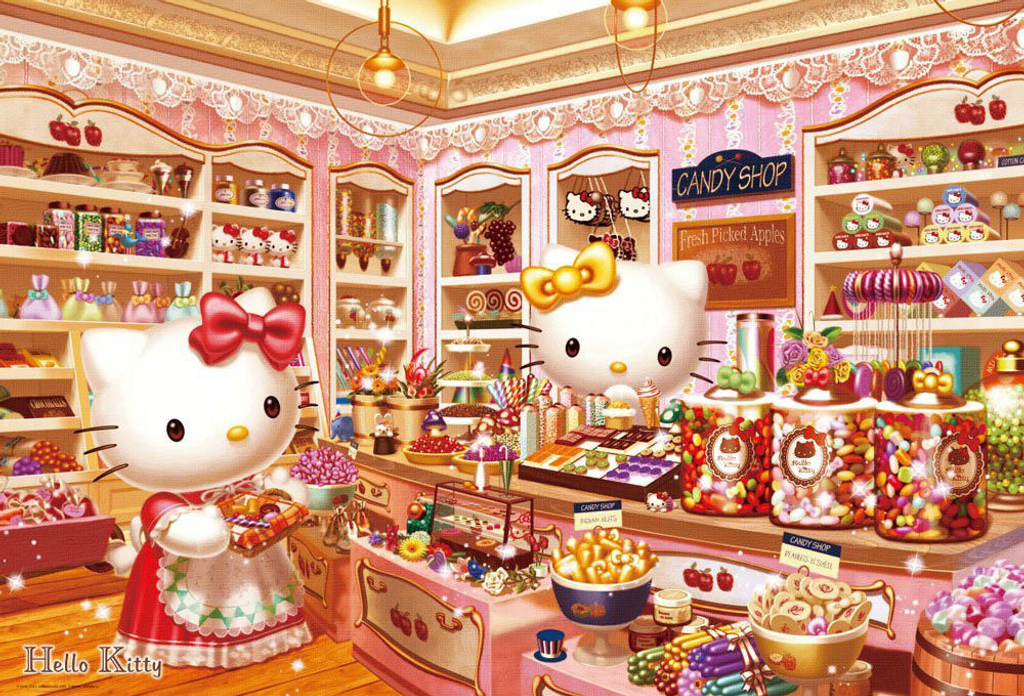 Beverly Jigsaw Puzzle 31-428 Sanrio Hello Kitty Candy Shop (1000 Pieces)
