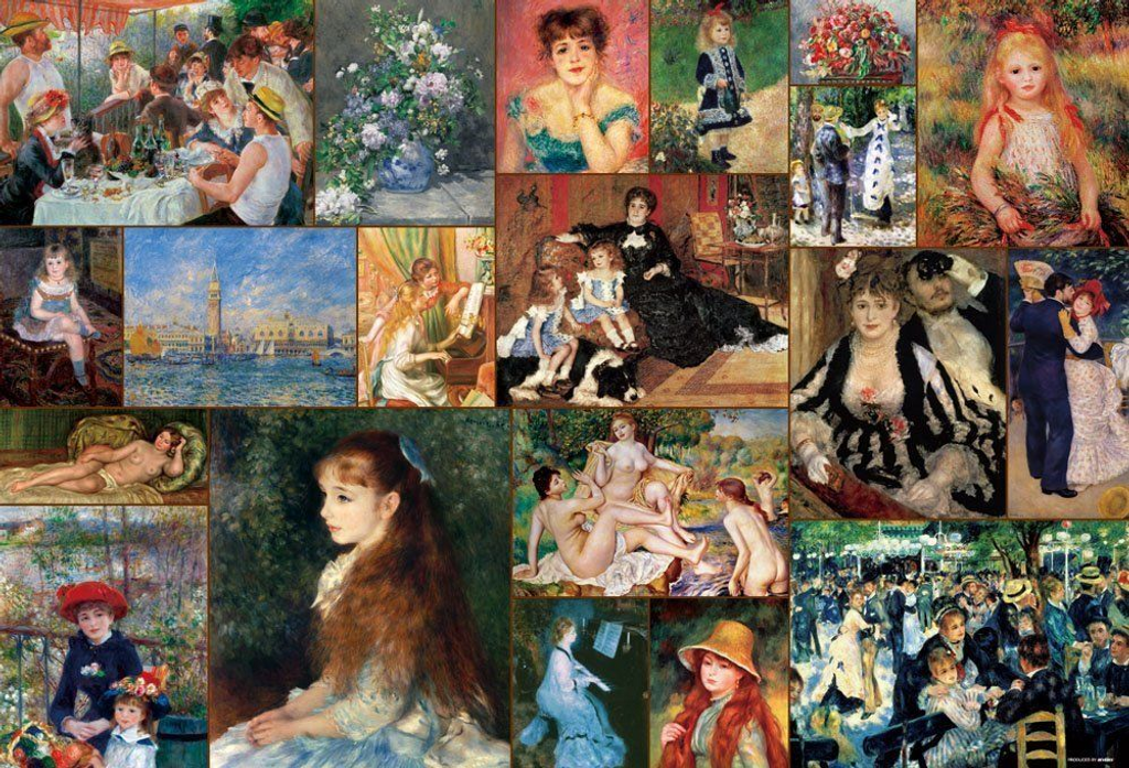 Beverly Jigsaw Puzzle 31-451 Pierre-Auguste Renoir Selection (1000 Pieces)