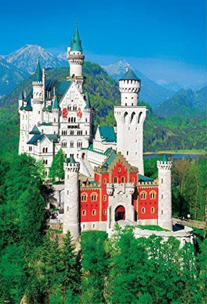 Beverly Jigsaw Puzzle 51-201 Neuschwanstein Castle (1000 Pieces)