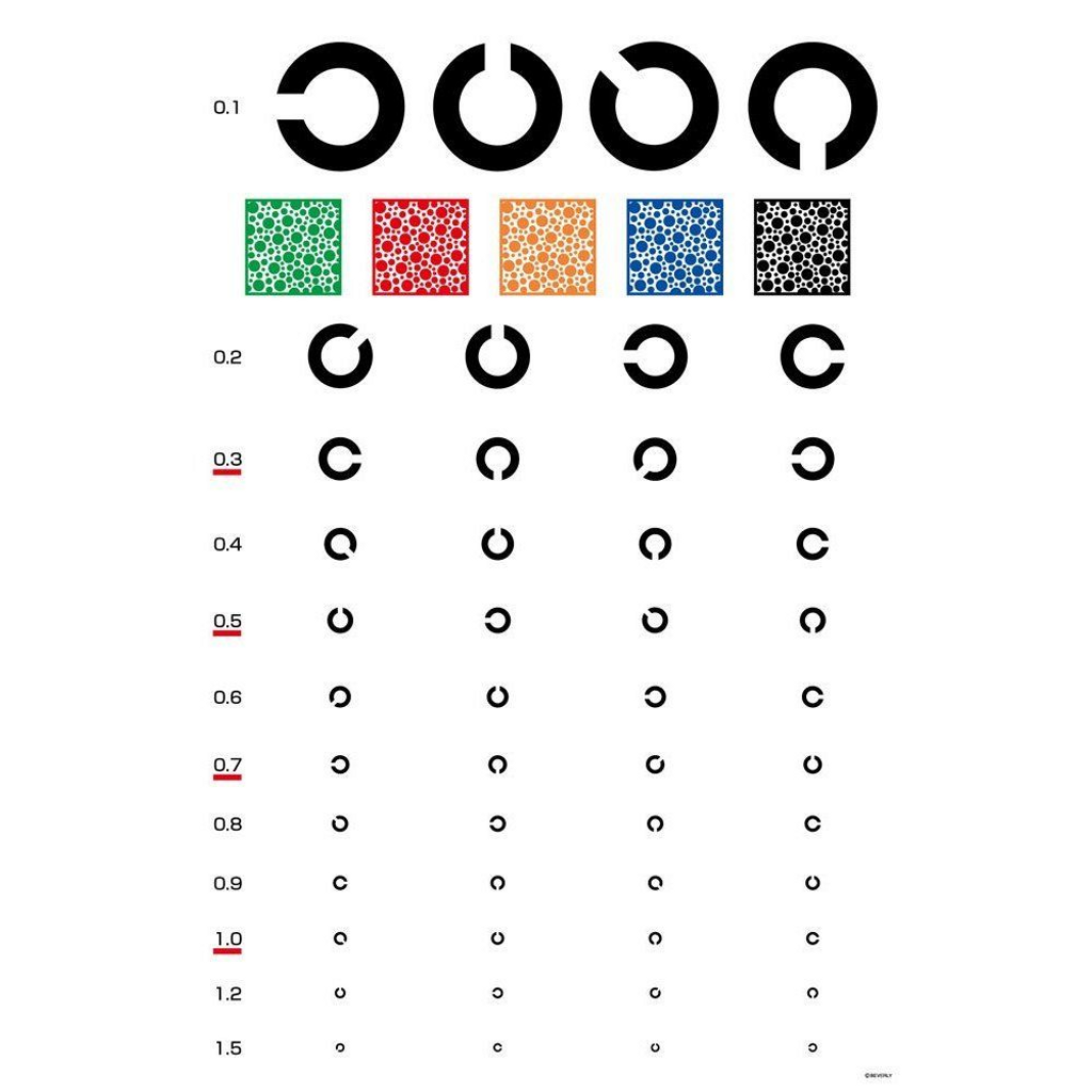 Beverly Jigsaw Puzzle 83-049 Eye Test Table (300 Pieces)