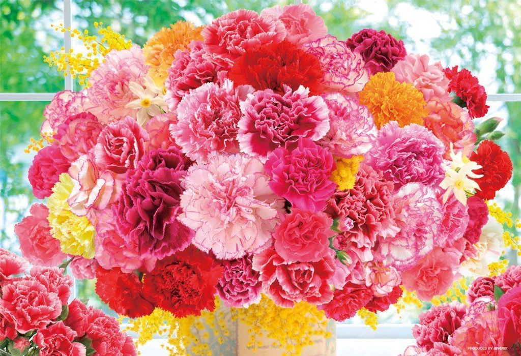 Beverly Jigsaw Puzzle L74-135 Bouquet of thanks (150 L-Pieces)