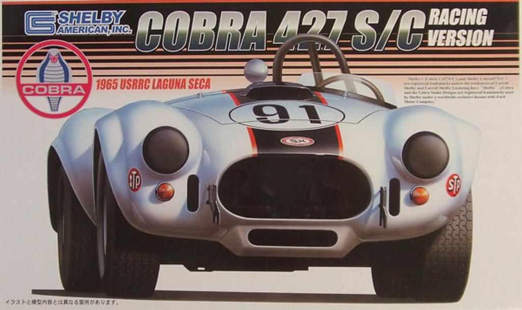 Fujimi RS-56 Shelby Cobra 427 S/C 1965 USRRC 1/24 Scale Kit