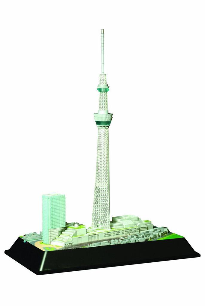 Doyusha 004654 Tokyo Sky Tree w/ LED light 1/3000 Scale Plastic Model Kit