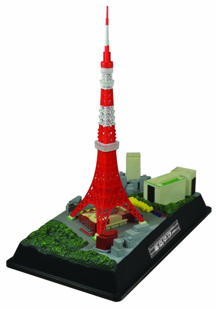 Doyusha 004678 Tokyo Tower w/ LED light 1/2000 Scale Plastic Model Kit