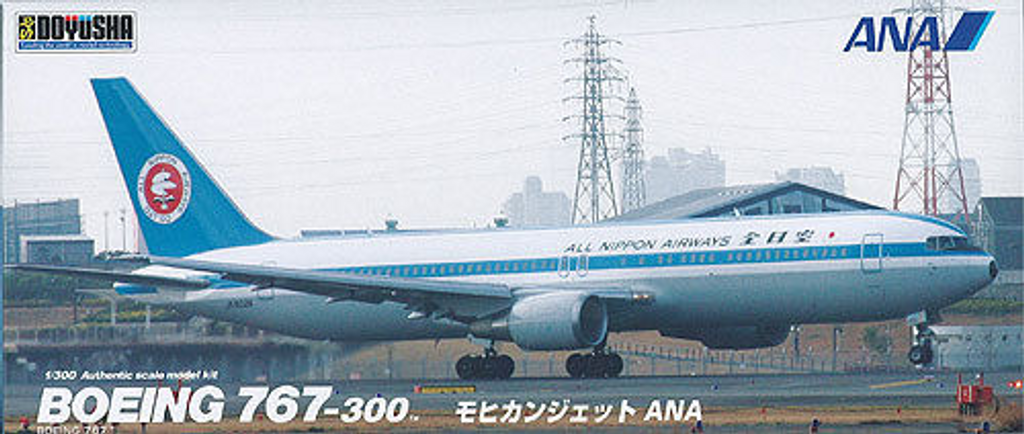 Doyusha 420270 Boeing 767-300 (Mohican Look) 1/300 Scale Plastic Kit
