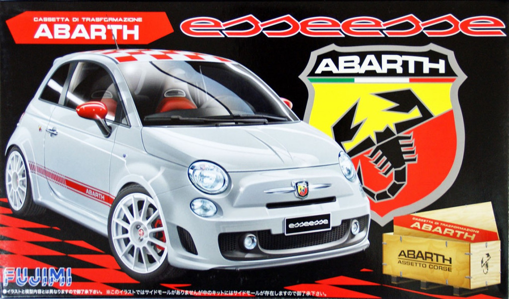 Fujimi RS-82 Abarth 500 Esseesse 1/24 Scale Kit