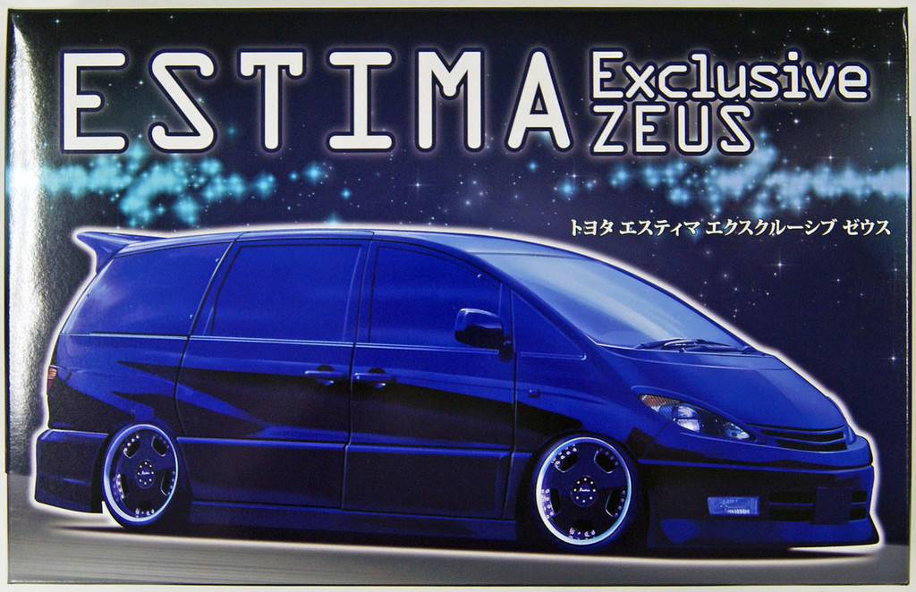 Fujimi ID-85 Toyota Estima Exclusive ZEUS 1/24 Scale Kit 039619