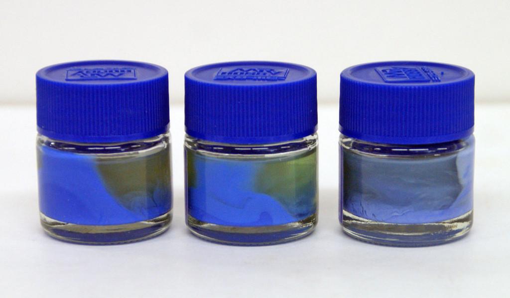GSI Creos Mr.Hobby CS512 Mr. Mechanical Color Set Ver. Blue (Studio RECKLESS)