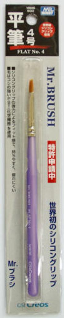 GSI Creos Mr.Hobby MB06 Mr. Brush FLAT No.4