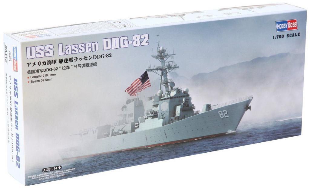Doyusha 234124 USS Lassen DDG-82 1/700 Scale Kit